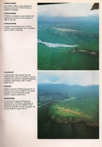 Luftbildaufnahmen des OTRAG-Startgeländes in Zaire