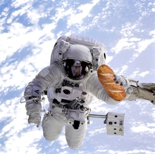 Eines der ungewöhnlichsten Raumfahrt-Start-Ups ist sicherlich Bake in Space. Die Bremer wollen auf der ISS krümelloses Brot backen. Problem: In Deutschland finden sich keine Investoren. Quelle: NASA/ Bake in Space