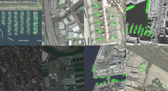 Kaum etwas, was sich nicht bewegt, bleibt von der intelligenten Software von SpaceKnow unbemerkt: Flugzeuge, Schiffe, Sportboote, Autos ... Quelle: SpaceKnow
