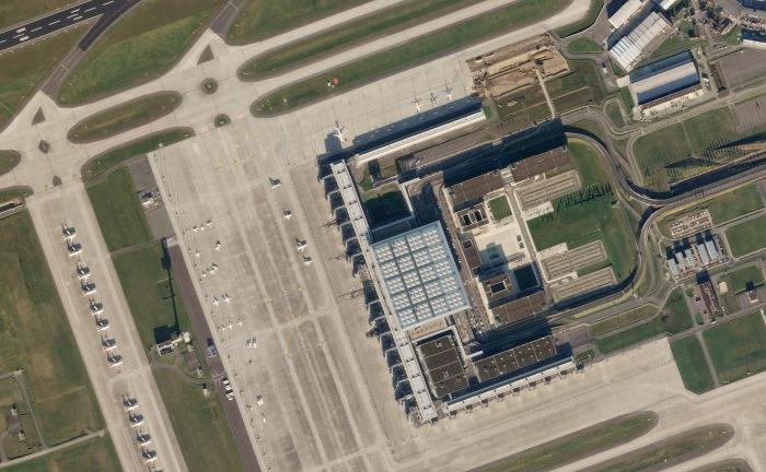 High Resolution-Aufnahme eines SkySat von Planet. Bild: Planet