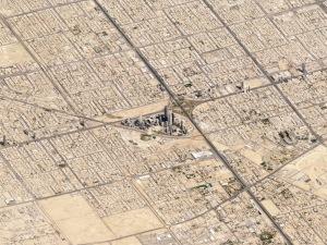 Riad, Hauptstadt von Saudi-Arabien. Bild: Planet