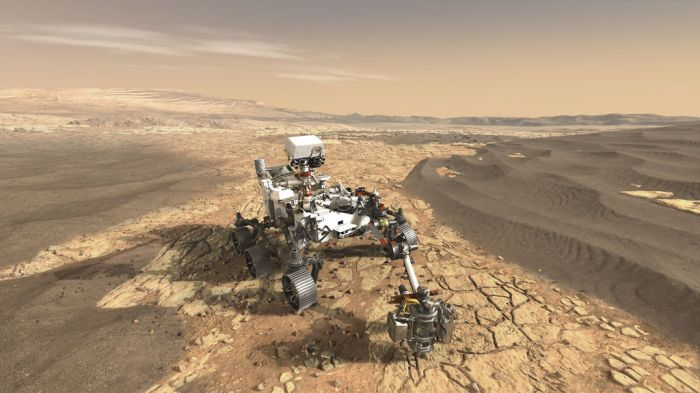 Der Rover Mars 2020