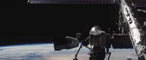 Der Crew Dragon von SpaceX beim Andocken an die ISS. Für die Europäer nur ein Traum.